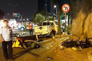 Nạn nhân vụ xe bán tải tông liên hoàn ở TPHCM giờ thế nào?