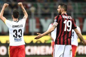 HLV Gattuso xấu hổ khi AC Milan bại trận trước Benevento