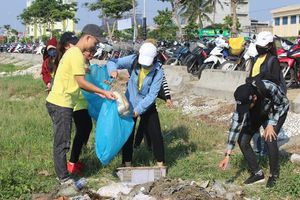 1.000 TNV chung tay dọn sạch rác Sơn Trà
