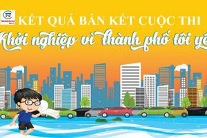 5 giải pháp xuất sắc vào chung kết cuộc thi 'Khởi nghiệp vì Thành phố Tôi yêu'