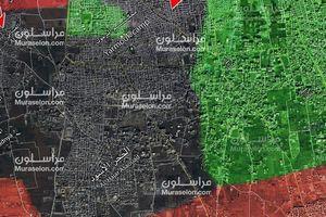 Pháo binh - tên lửa Syria hủy diệt phiến quân IS trong Trại Yamouk