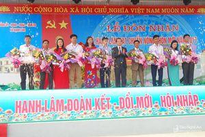Xã Hạnh Lâm (Thanh Chương) đón Bằng công nhận đạt chuẩn Nông thôn mới