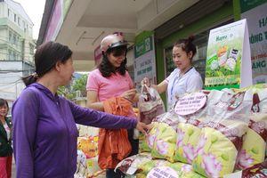 Sản phẩm gạo Đồng Tháp ra mắt người tiêu dùng Thủ đô