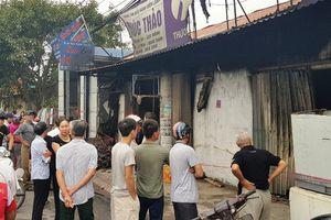 Nhà bốc cháy trong đêm, 3 mẹ con cùng tử vong