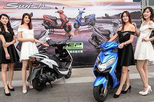 Cận cảnh xe ga Suzuki Swish giá rẻ chỉ 28 triệu đồng