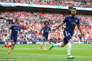 Giroud hóa Messi, giúp Chelsea gặp MU ở chung kết FA Cup