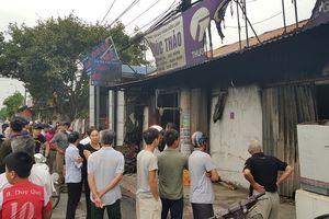 Cháy nhà trong đêm, 3 mẹ con tử vong