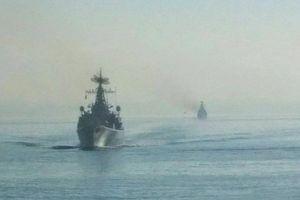 Nga điều tàu chiến mang tên lửa dẫn đường đến Syria