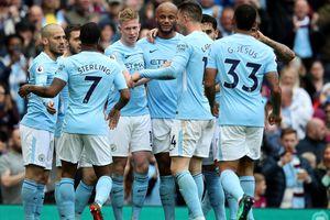 Man City đại thắng '5 sao' mừng chức vô địch