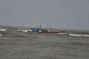 Cứu 6 ngư dân bị chìm tàu ở vùng biển Hoàng Sa
