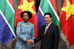 Kinh ngạch thương mại Việt Nam - CH Nam Phi đặt mục tiêu 2 tỷ USD
