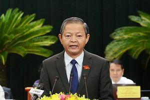 Ông Lê Văn Khoa xin thôi chức Phó Chủ tịch TPHCM