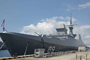 Tàu khu trục RSS INTREPID của Hải quân Singapore sẽ đến Đà Nẵng