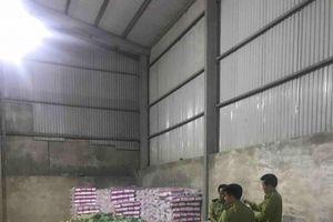 Hà Nội: Thu giữ 22.000 miếng tã giả nhãn hiệu 'Bobby'
