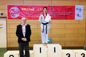 Vận động viên Taekwondo Nghệ An giành HCV Giải vô địch các CLB quốc tế