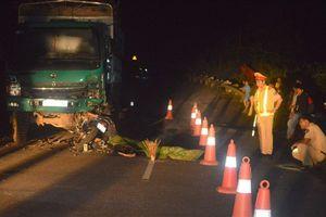 Vụ 4 người tử vong sau va chạm với xe tải: Người cầm lái xe máy không làm chủ tốc độ