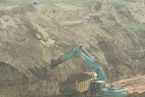 Hà Trung (Thanh Hóa): Chống lại lệnh cấm của Chủ tịch huyện, Công ty TNHH Bắc Giang vẫn khai thác đất vào ban đêm