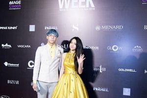 Hot girl Bảo My sánh đôi cùng rapper Khôi Nguyên trong Tuần lễ thời trang 2018