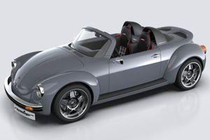 Bản độ mạnh mẽ của Beetle mang tên Memminger Roadster 2.7