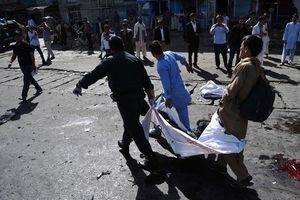 Hiện trường đẫm máu vụ tấn công khủng bố tại Kabul, Afghanistan