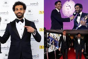 Salah bảnh bao đi nhận giải Cầu thủ xuất sắc nhất Premier League
