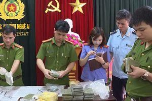 Nghệ An: Triệt phá đường dây mua bán chất ma túy với số lượng lớn