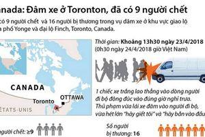 Vụ đâm xe ở Canada: Đã có 9 người thiệt mạng