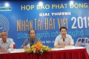 Chính thức phát động giải thưởng Nhân tài Đất Việt 2018
