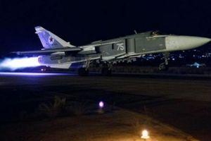 Chiến đấu cơ Nga 'dội bão lửa' hủy diệt khủng bố trên khắp Syria