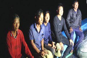 6 ngư dân trên tàu cá bị đâm chìm ở Hoàng Sa