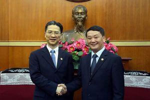 Ủy ban Mặt trận Tổ quốc Việt Nam đẩy mạnh hợp tác với Chính hiệp TP Thượng Hải (Trung Quốc)