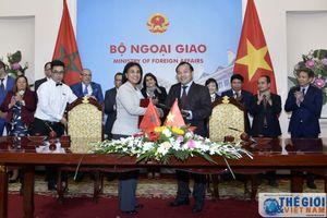 Đẩy mạnh trao đổi thương mại và đầu tư Việt Nam - Morocco