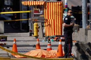 Tấn công bằng xe tải ở Canada, ít nhất 9 người thiệt mạng