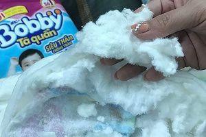 Bobby giả gây tác hại không lường khi cho trẻ dùng tã giấy