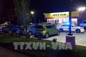 Vụ xả súng tại Tennessee (Mỹ): Cảnh sát bắt giữ một nghi phạm
