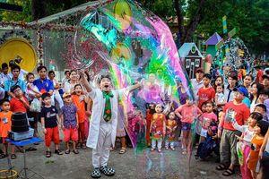 TPHCM: Đầm Sen sẽ thắp sáng bản đồ Việt Nam bằng nón lá trong đêm pháo hoa