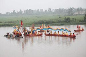 Linh thiêng nghi lễ rước nước cầu an tại Lễ hội Hoa Lư