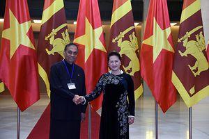 Thúc đẩy hơn nữa mối quan hệ hai nước và hai Quốc hội Việt Nam - Sri Lanka