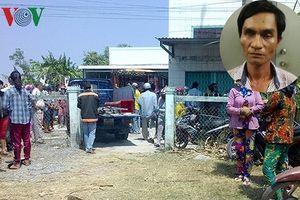 Di lý kẻ sát hại dã man người phụ nữ bán thịt heo về Trà Vinh