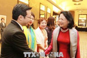 Hoạt động của Phó Chủ tịch nước bên lề Hội nghị Thượng đỉnh Phụ nữ Toàn cầu