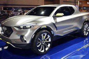 Hé lộ mới về xe bán tải đầu tiên của Hyundai
