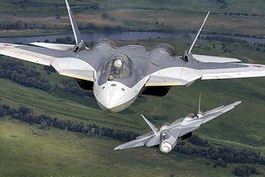Su-57 tập luyện cho Ngày Chiến thắng 9/5