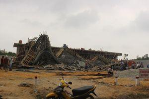 Thông tin mới vụ sập giàn bê tông cây xăng ở Huế