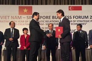 Đà Nẵng ký kết với nhiều tập đoàn lớn của Singapore