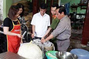 Tăng cường kiểm tra an toàn thực phẩm cơ sở sản xuất nhỏ, lẻ