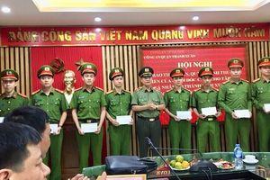 CA quận Thanh Xuân nhận thư khen của Giám đốc CATP Hà Nội