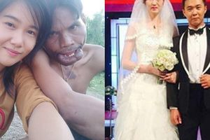 Lệch nhau về nhan sắc lẫn vóc dáng đến khó tin nhưng cô dâu - chú rể vẫn sống rất hạnh phúc