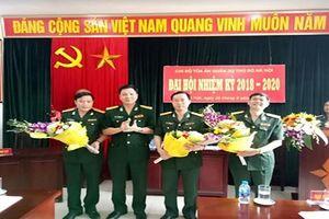 Chi bộ TAQS Thủ đô Hà Nội tổ chức Đại hội nhiệm kỳ 2018 – 2020