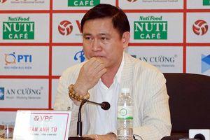 Ông Trần Anh Tú xin không tranh cử Phó Chủ tịch VFF khóa VIII