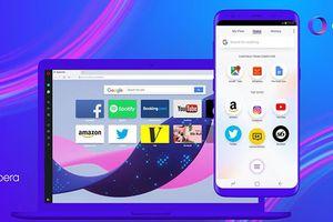 Opera Touch giúp duyệt web tốt hơn trên thiết bị di động